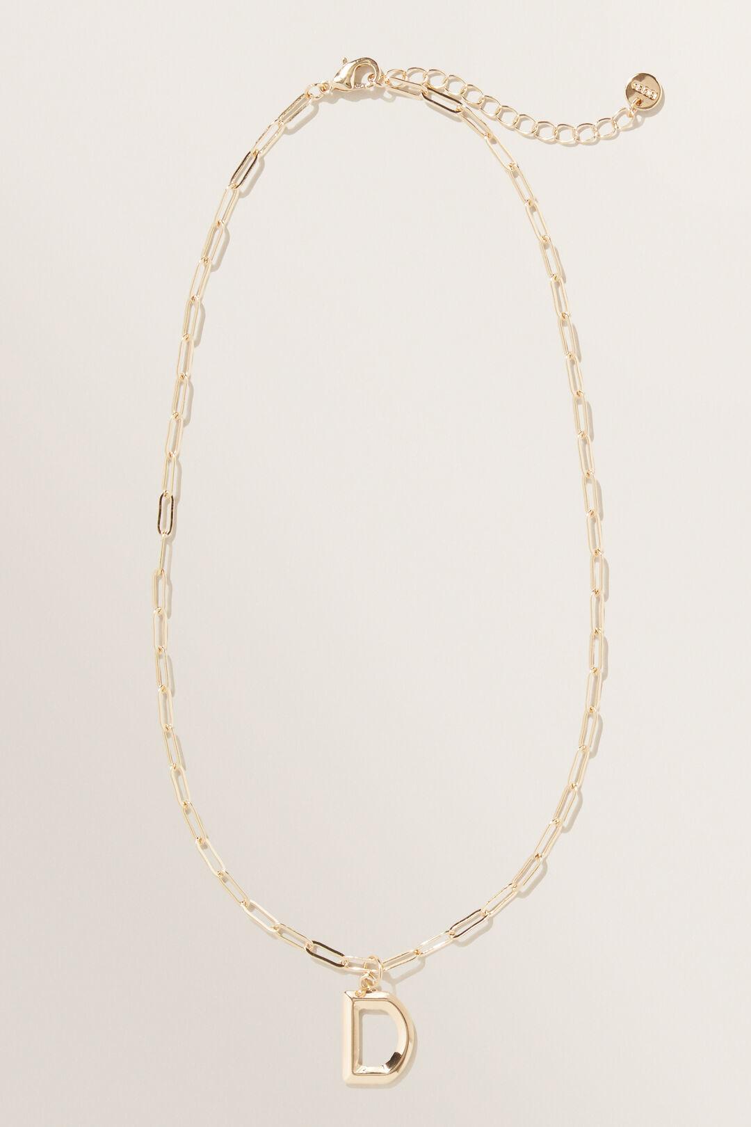 Initial  Chain  Necklace  D  hi-res
