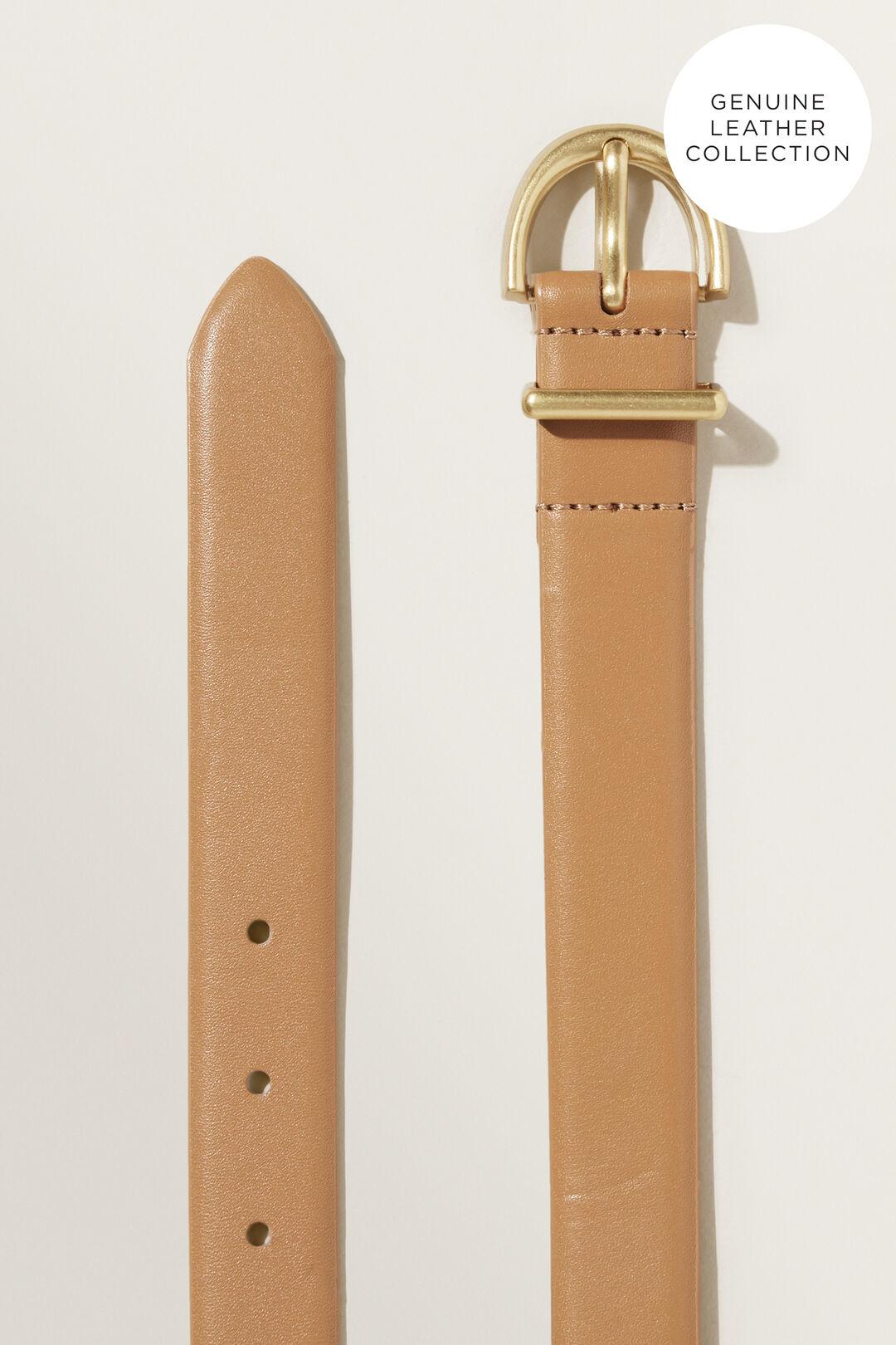 Classic Leather Belt  HONEY DEW  hi-res