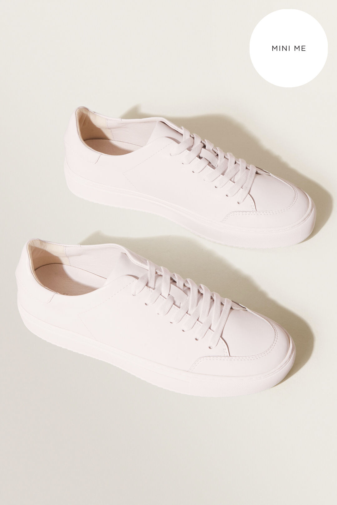 Leather Sneaker  ASH PINK  hi-res