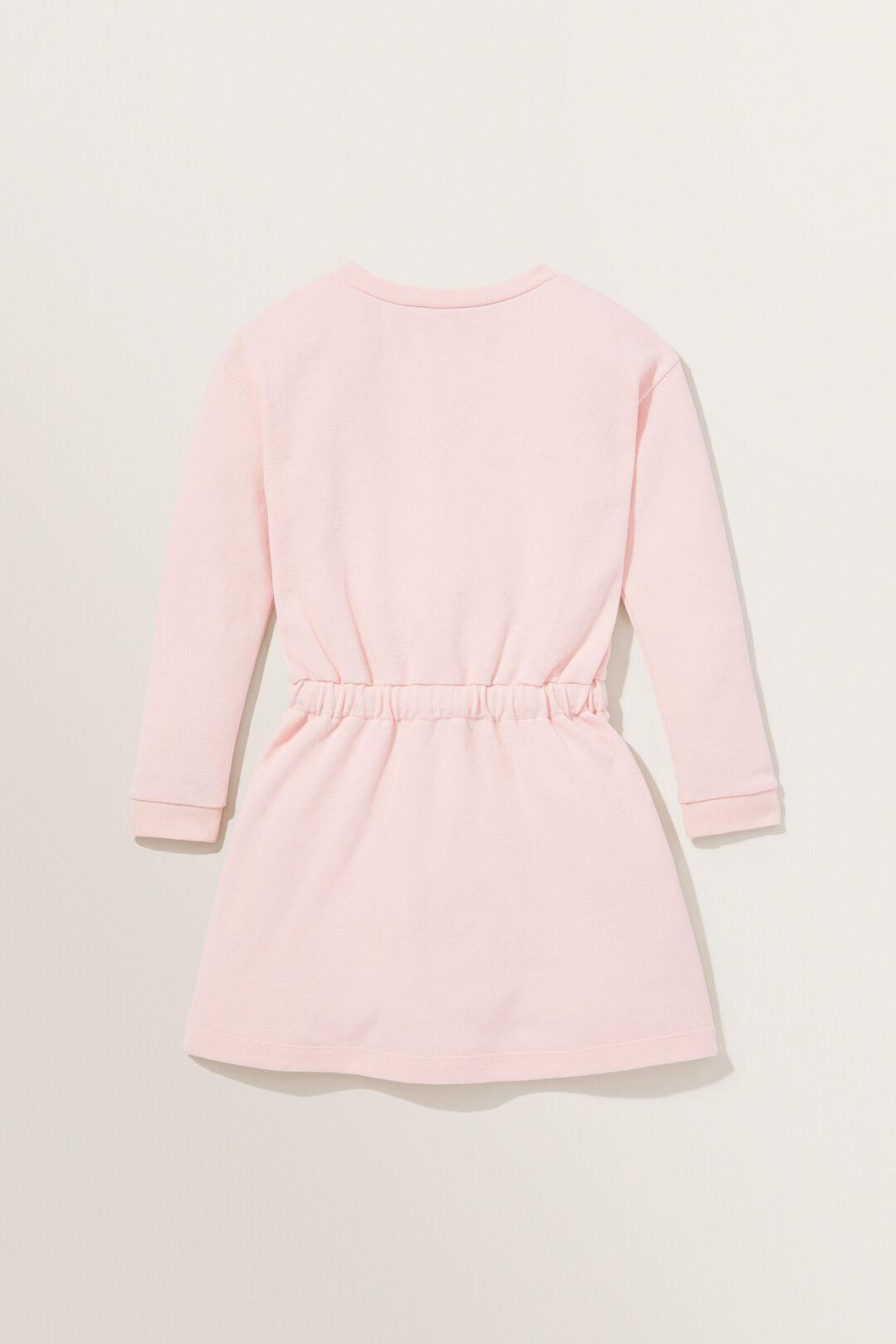 Pique Dress  DUSTY ROSE  hi-res