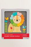 Lion Wood Puzzle  MULTI  hi-res