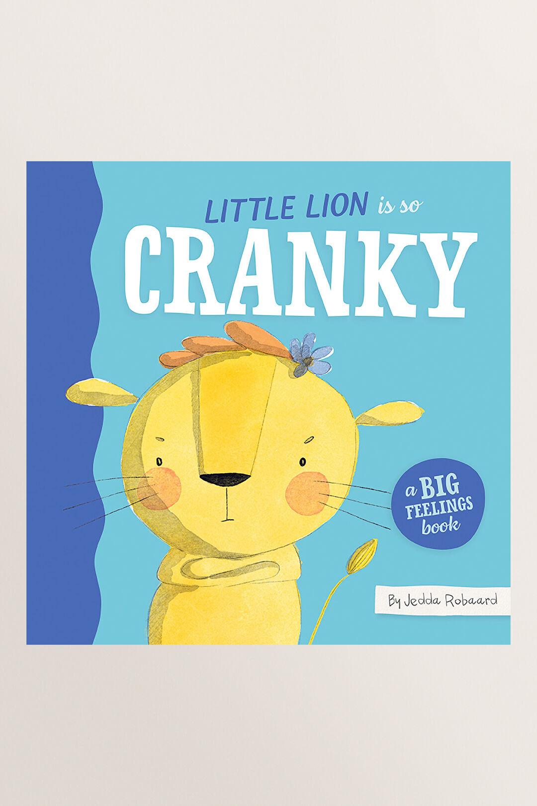 Little Lion Is So Cranky Book  MULTI  hi-res