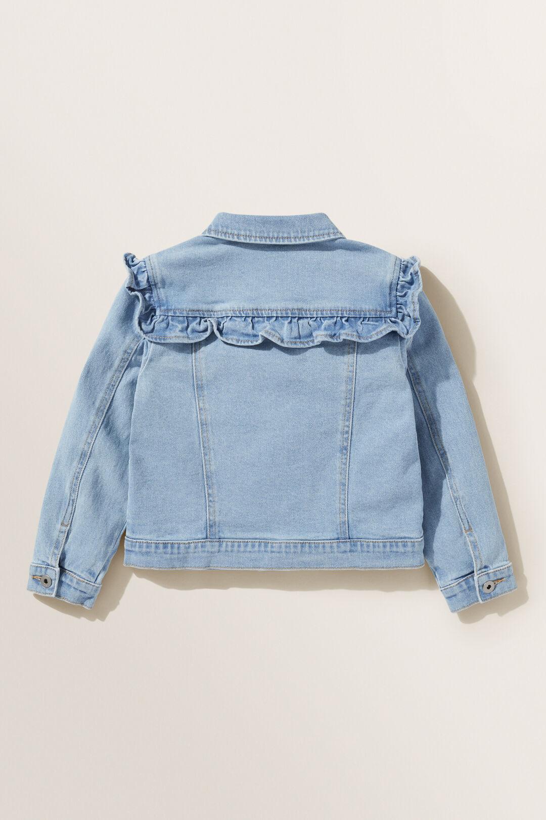 Frill Denim Jacket  CLASSIC WASH  hi-res