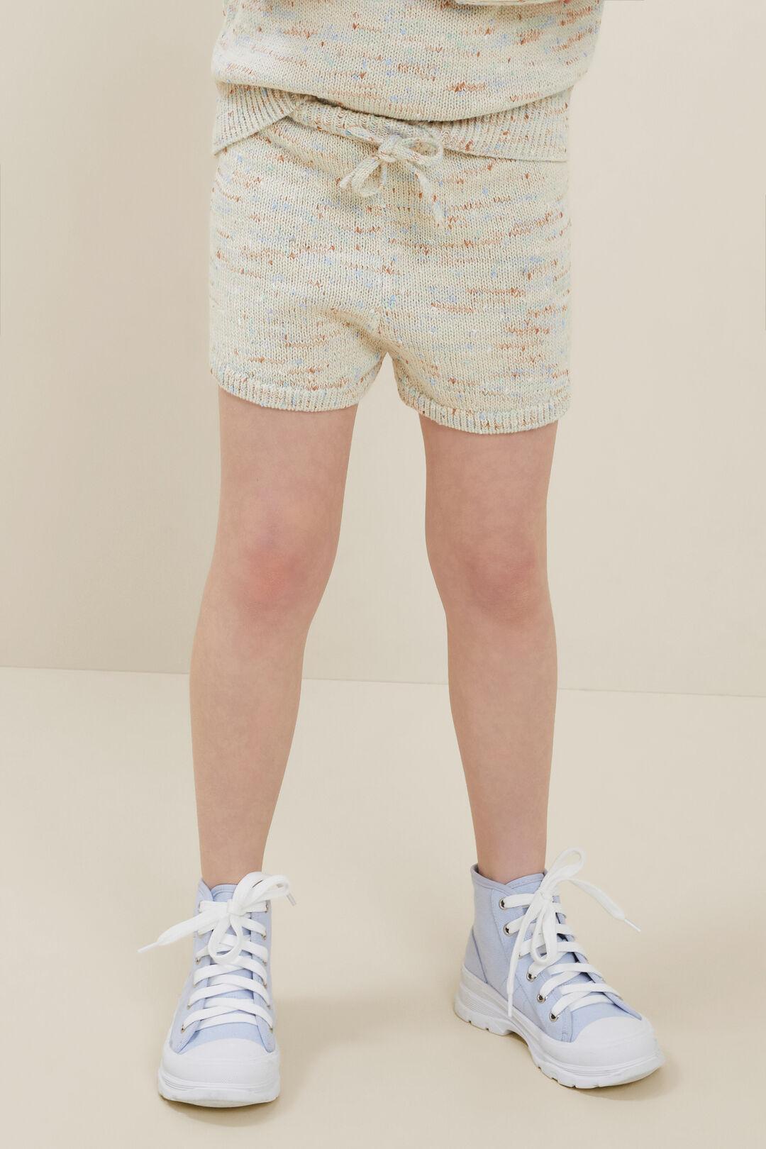 Speckle Knit Shorts  MULTI  hi-res