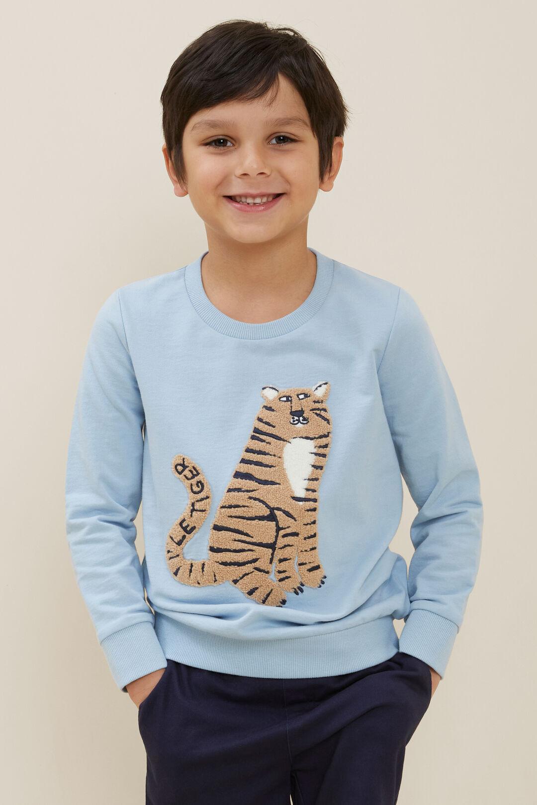 Tiger Sweater  PALE BLUE  hi-res