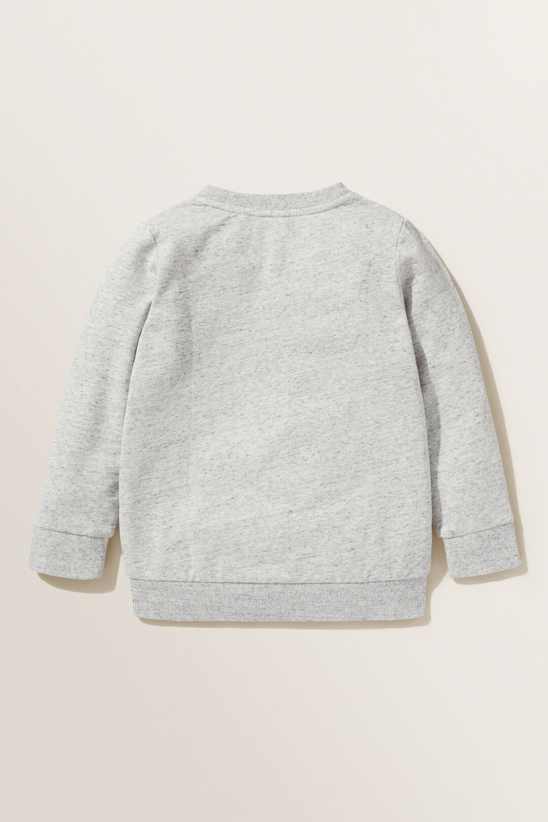 Globe Slogan Sweater  CLOUDY MARLE  hi-res