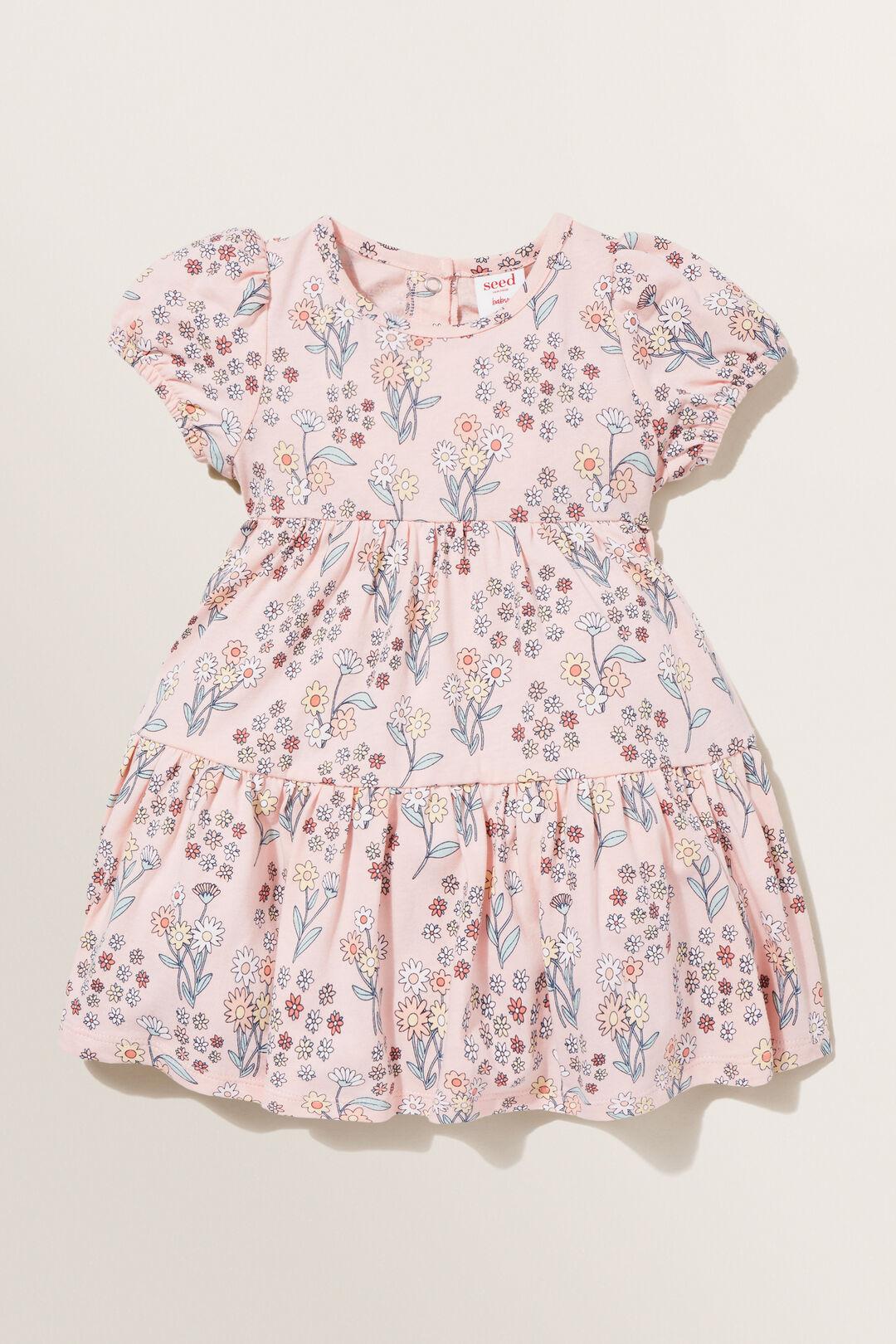 Ditsy Dress  DUSTY ROSE  hi-res