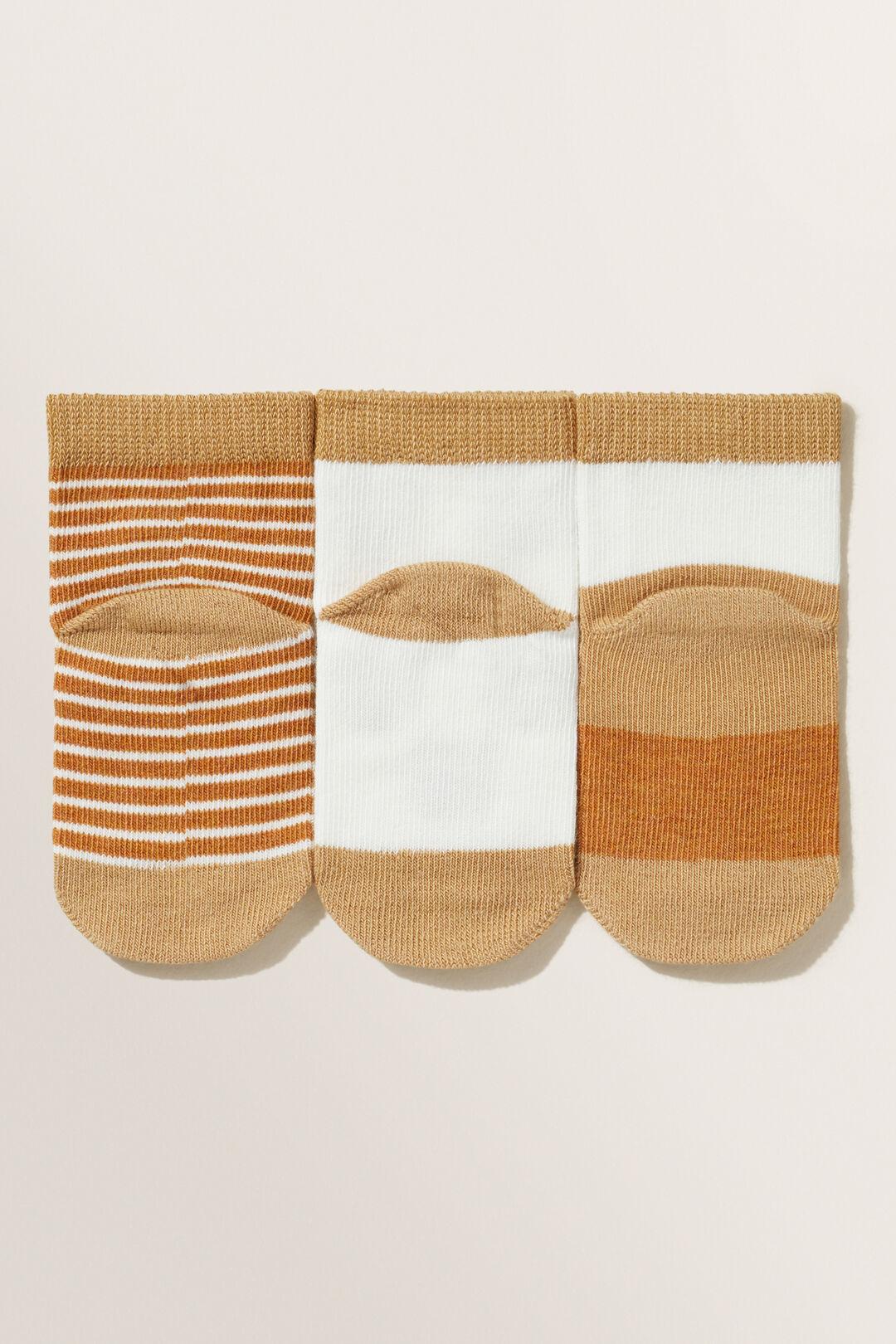 Bear Socks  NUTMEG  hi-res