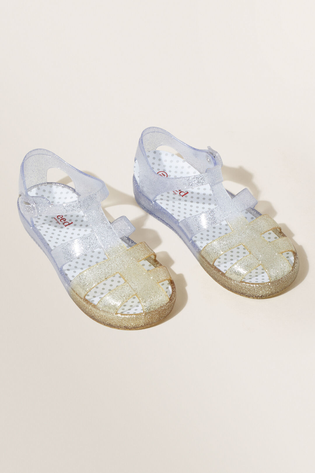 Ombre Jelly Sandal  GOLD/SILVER  hi-res