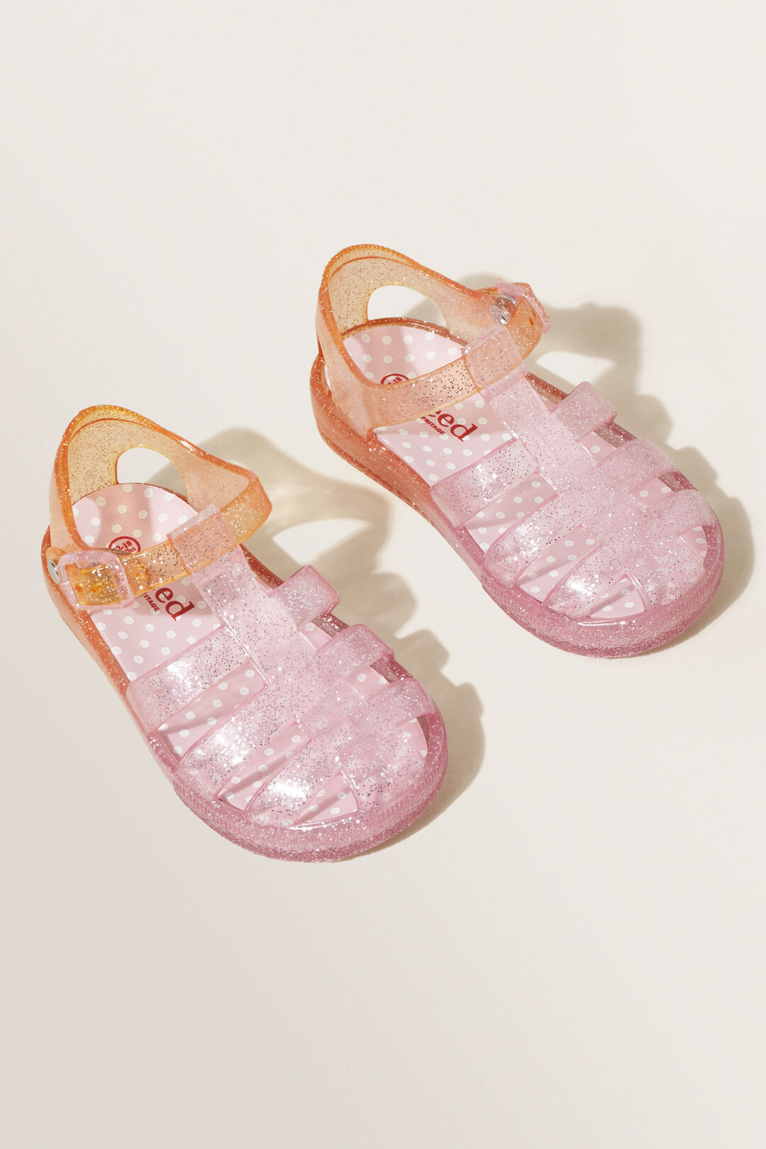 Jelly Cage Sandal  PINK  hi-res