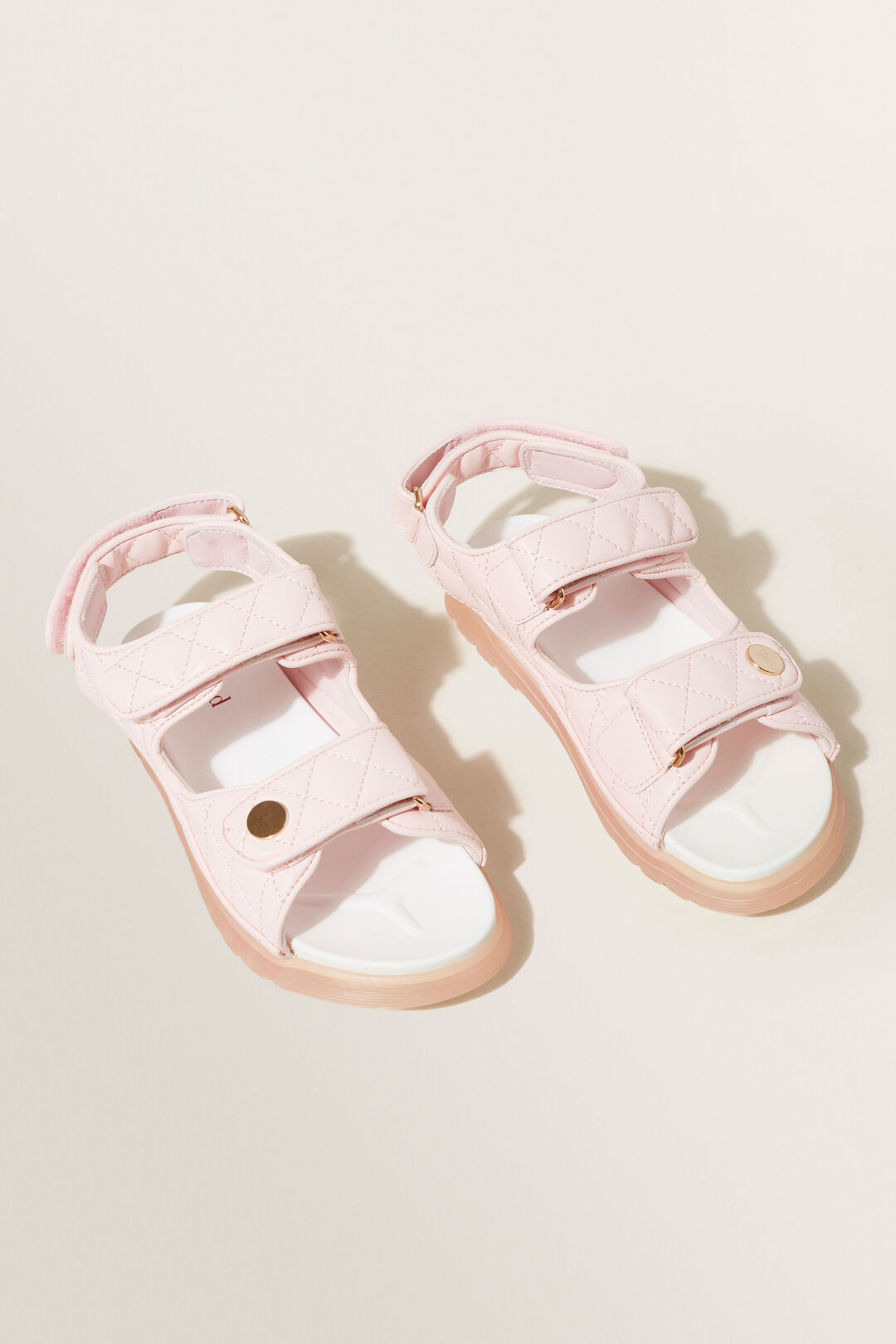 Quilted Footbed Sandal  DUSTY ROSE  hi-res