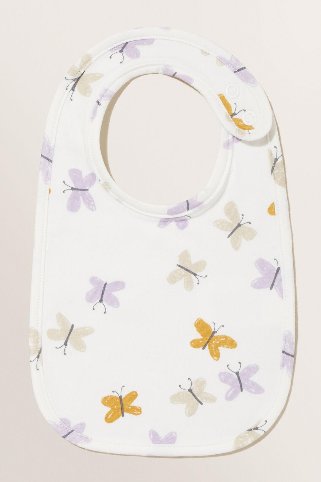 Butterfly Bib  CANVAS  hi-res