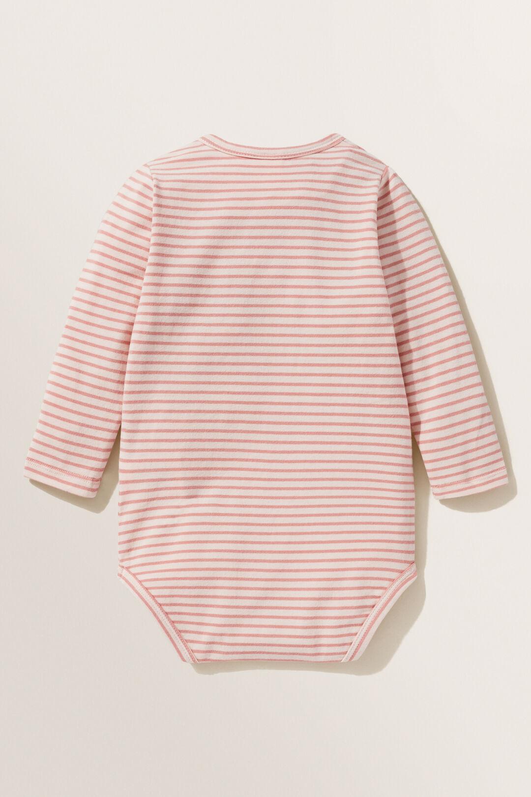 Stripe Bodysuit  ROSEWATER  hi-res
