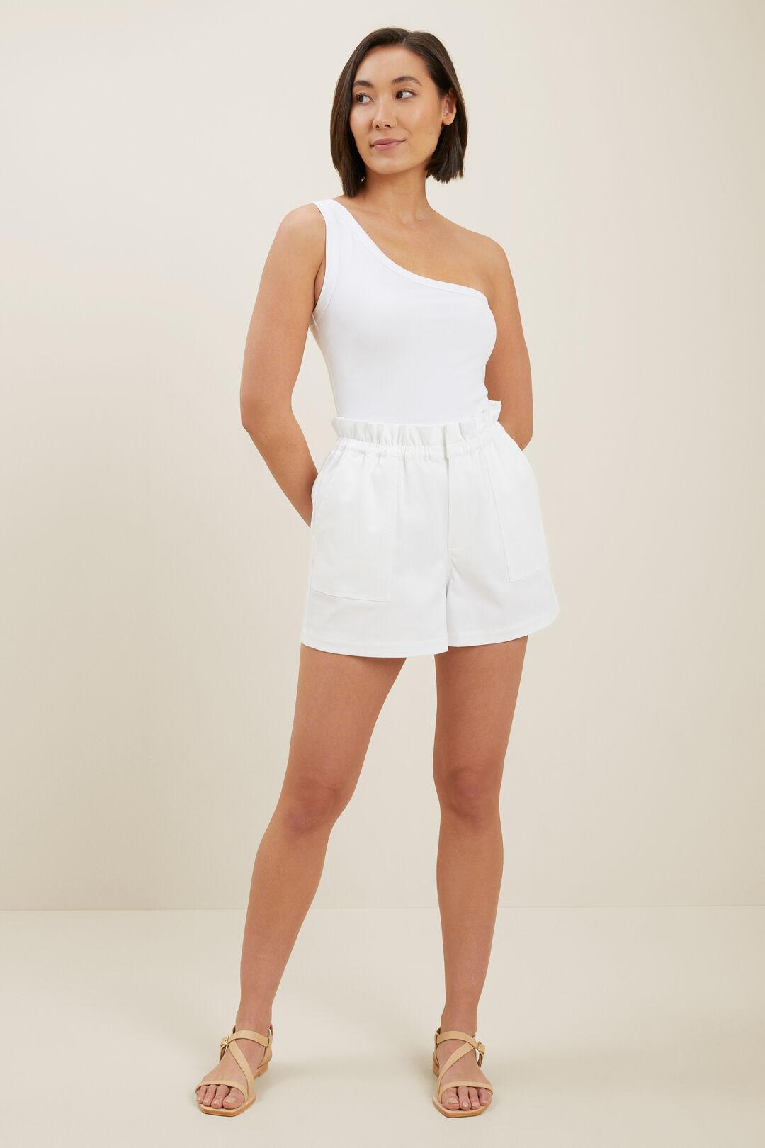 Sustainable Cotton Short  WHISPER WHITE  hi-res