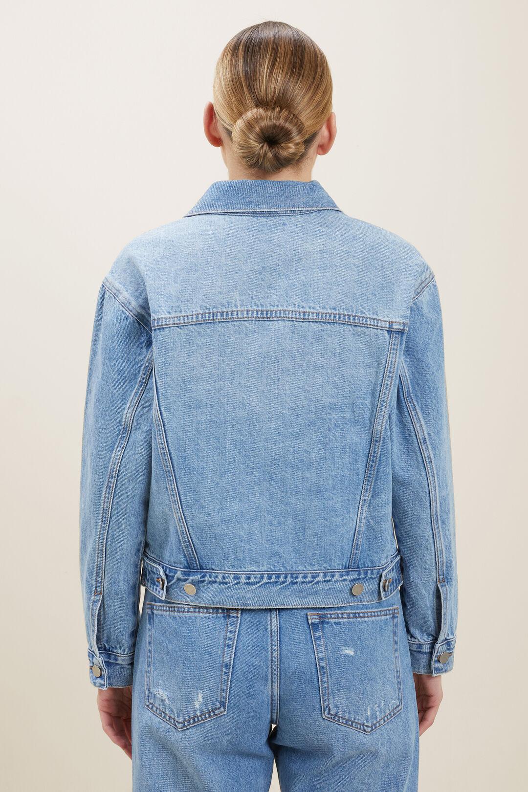 Denim Pocket Jacket  MID VINTAGE WASH  hi-res