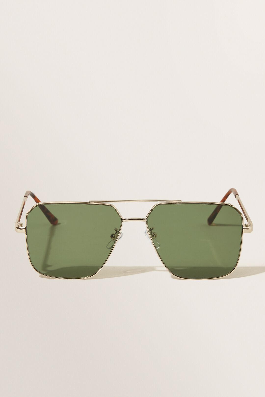 Roza Aviator Sunglasses  GOLD  hi-res