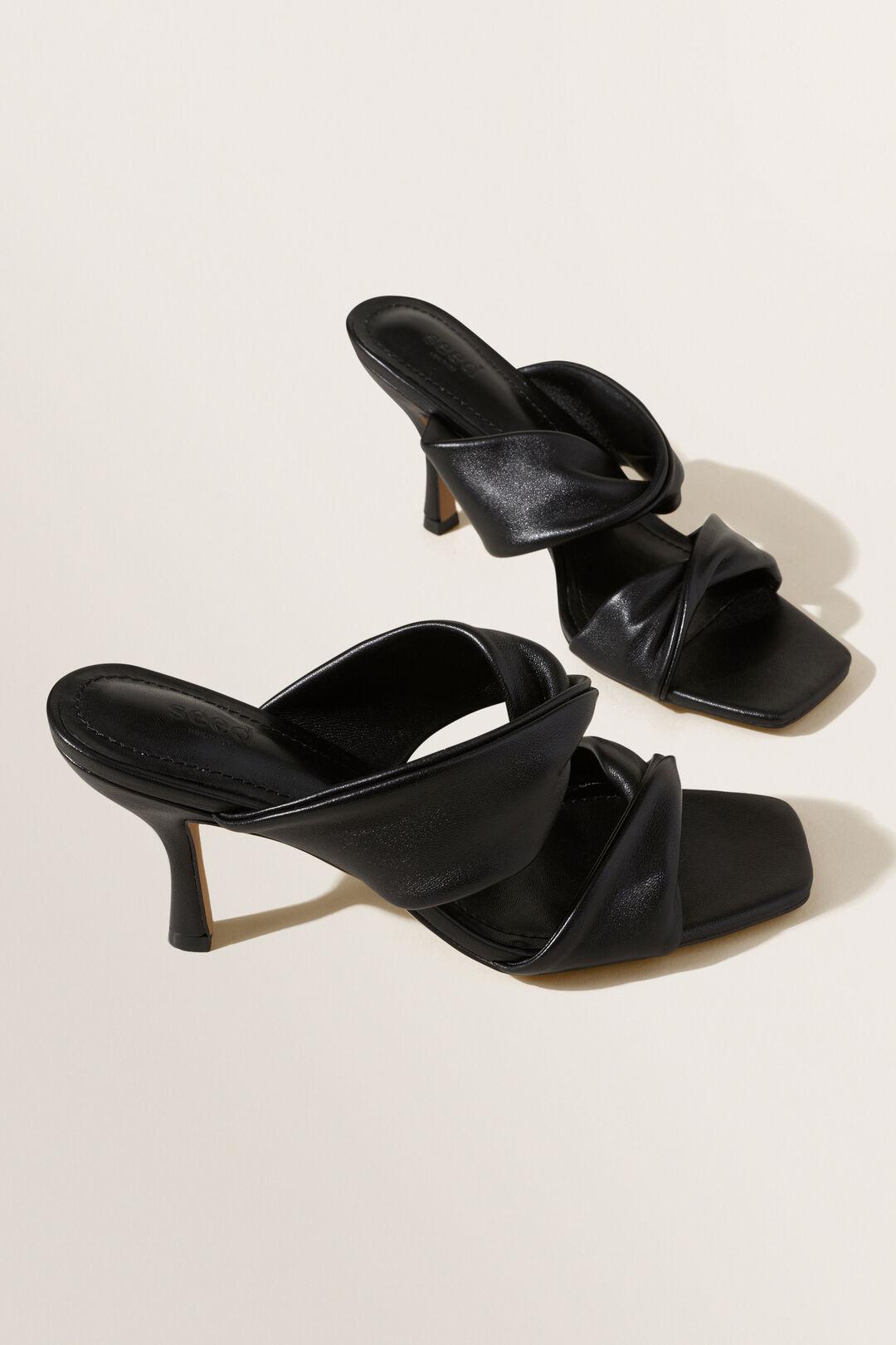 Scarlett Heeled Sandal  BLACK  hi-res