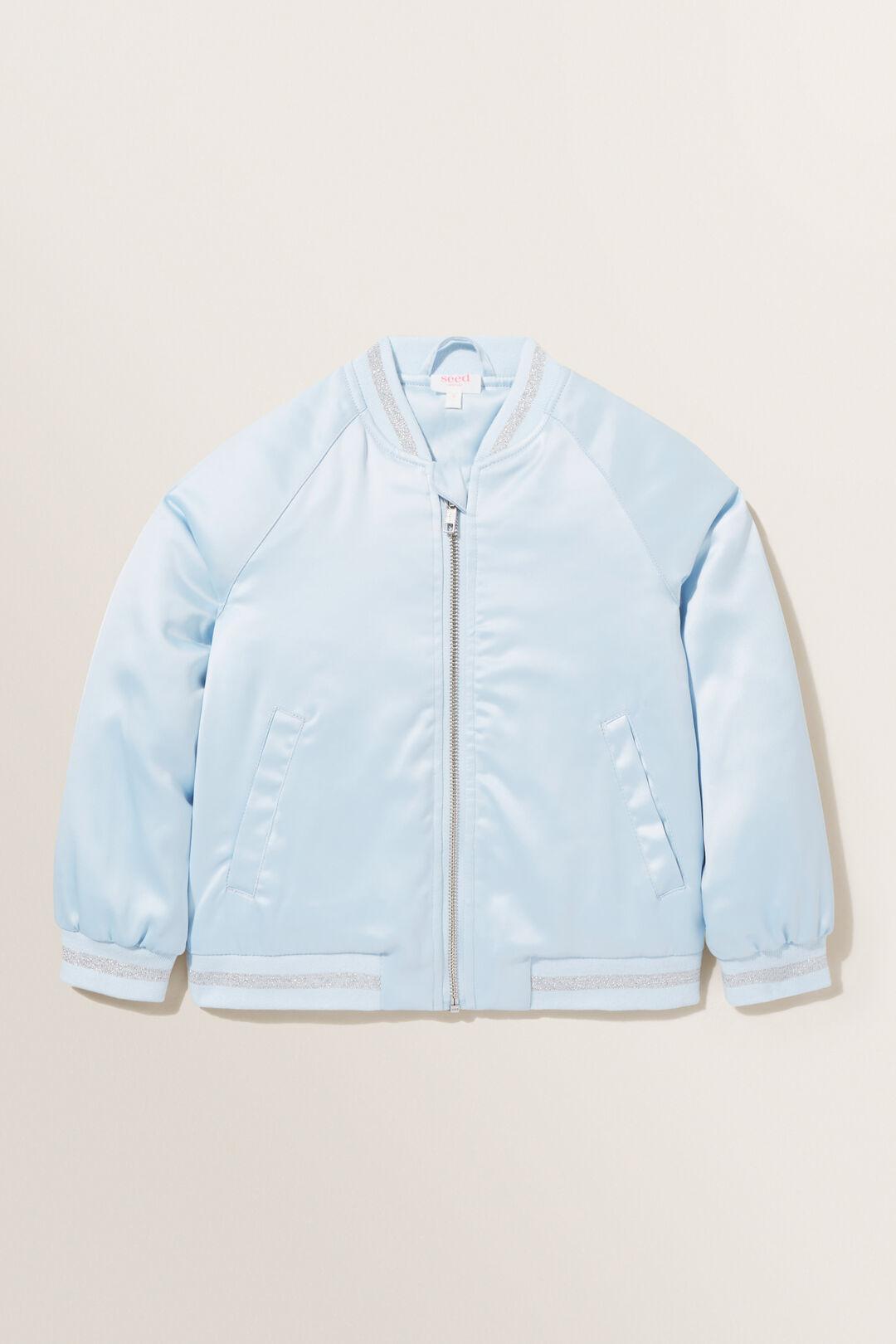 Mother Nature Bomber Jacket  BABY BLUE  hi-res