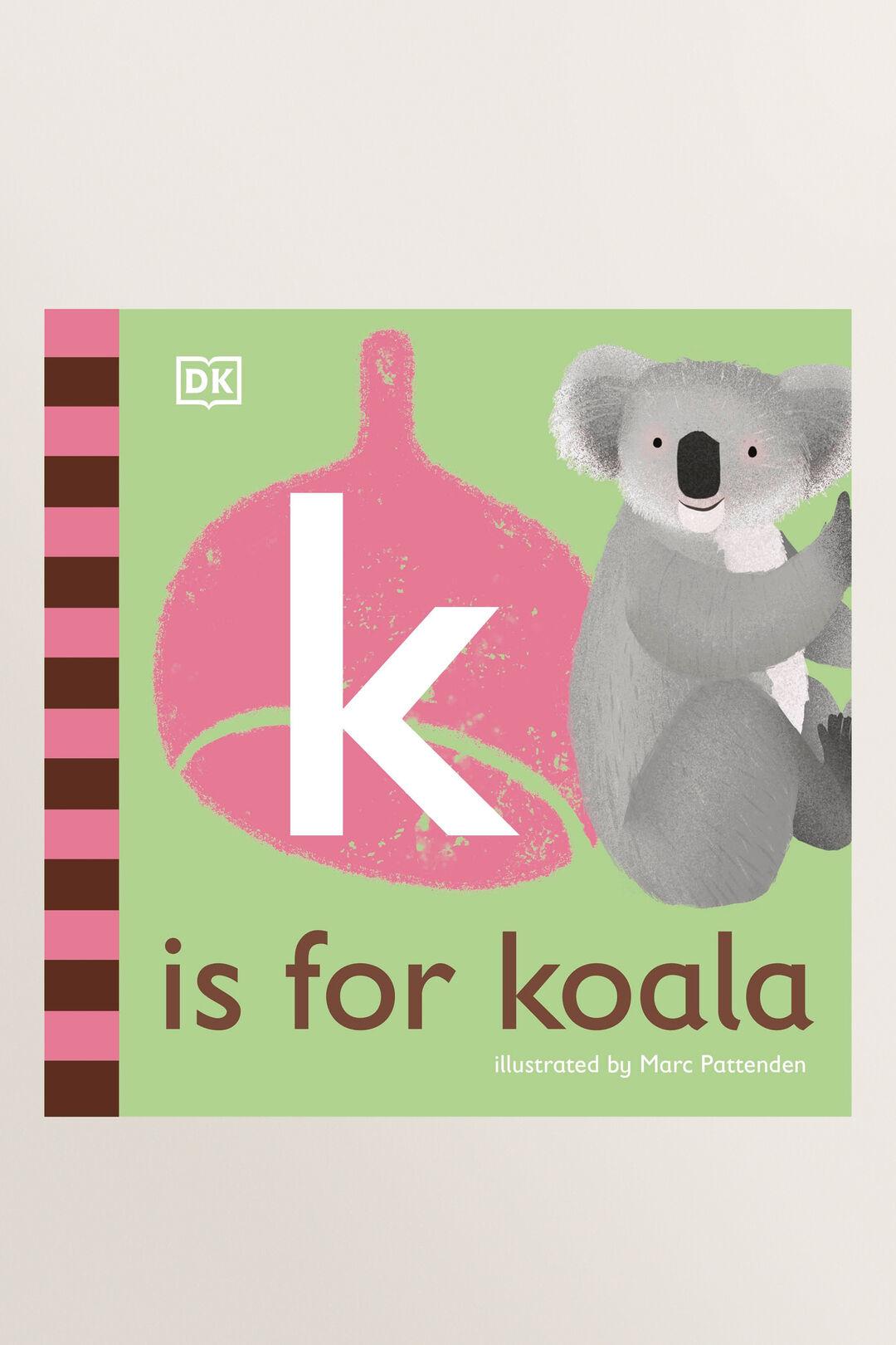 K Is For Koala Book  MULTI  hi-res