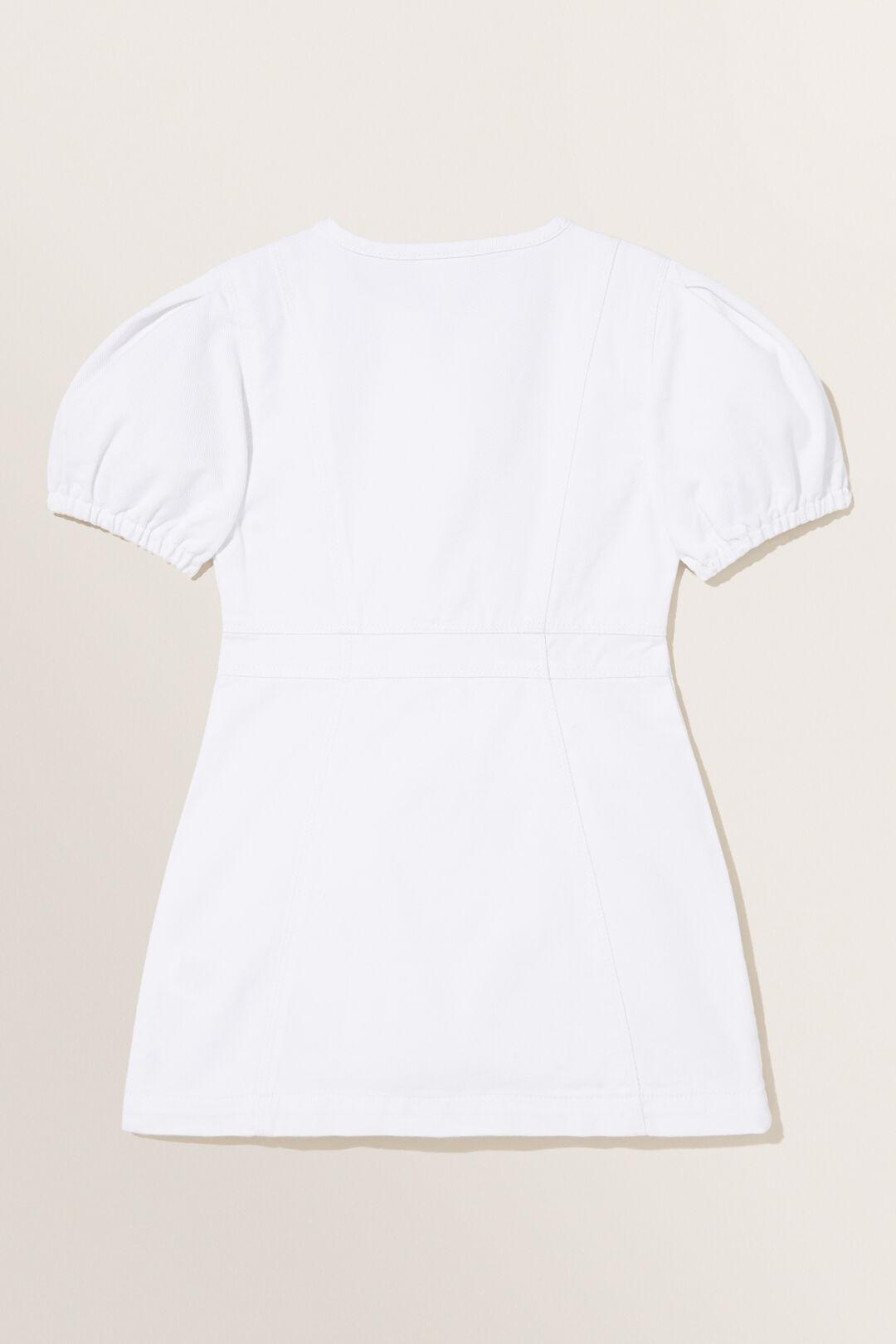 Denim Dress  WHITE WASH  hi-res