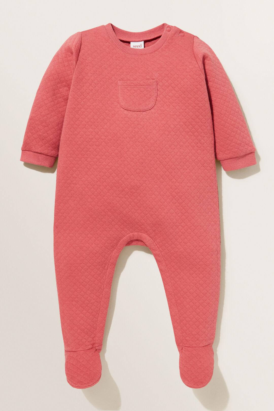 Quilted Pocket Jumpsuit  STRAWBERRY JAM  hi-res