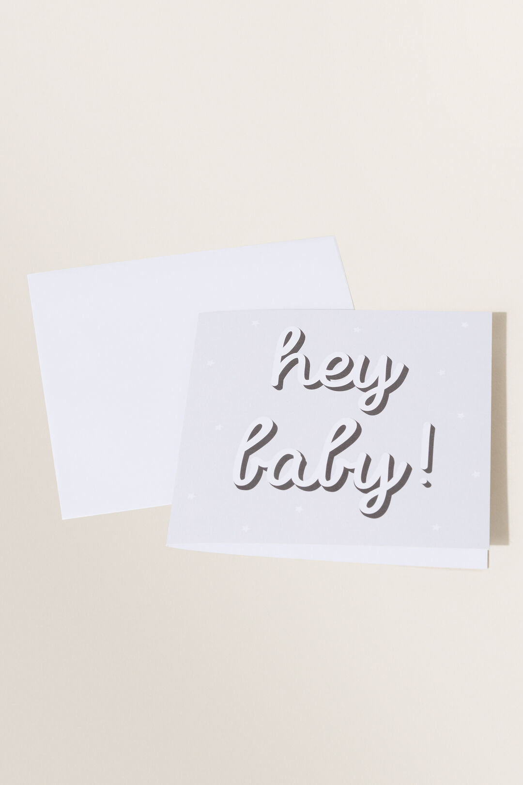 Large Hey Baby Card  MULTI  hi-res