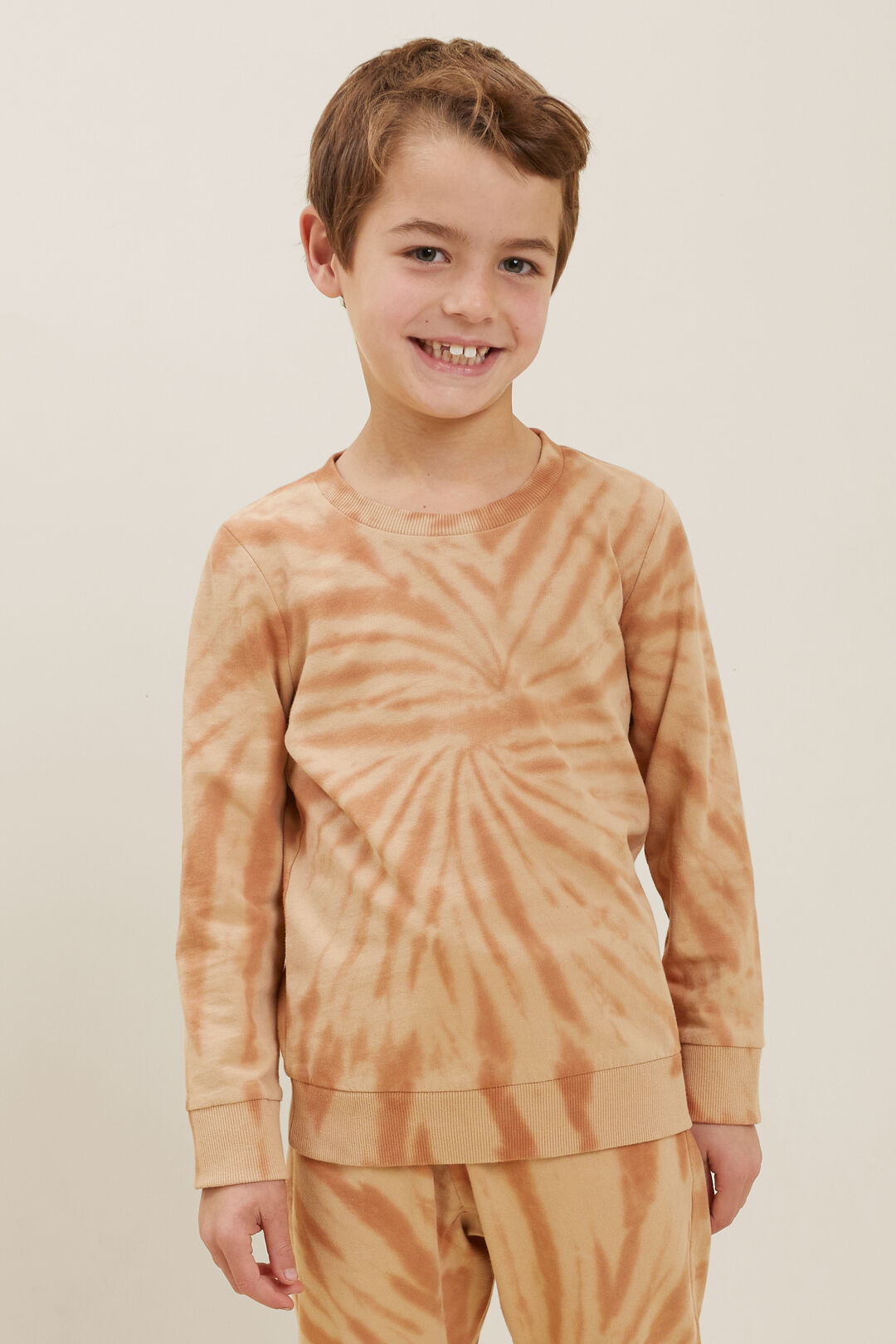 Tie-Dye Sweater  AMBER  hi-res