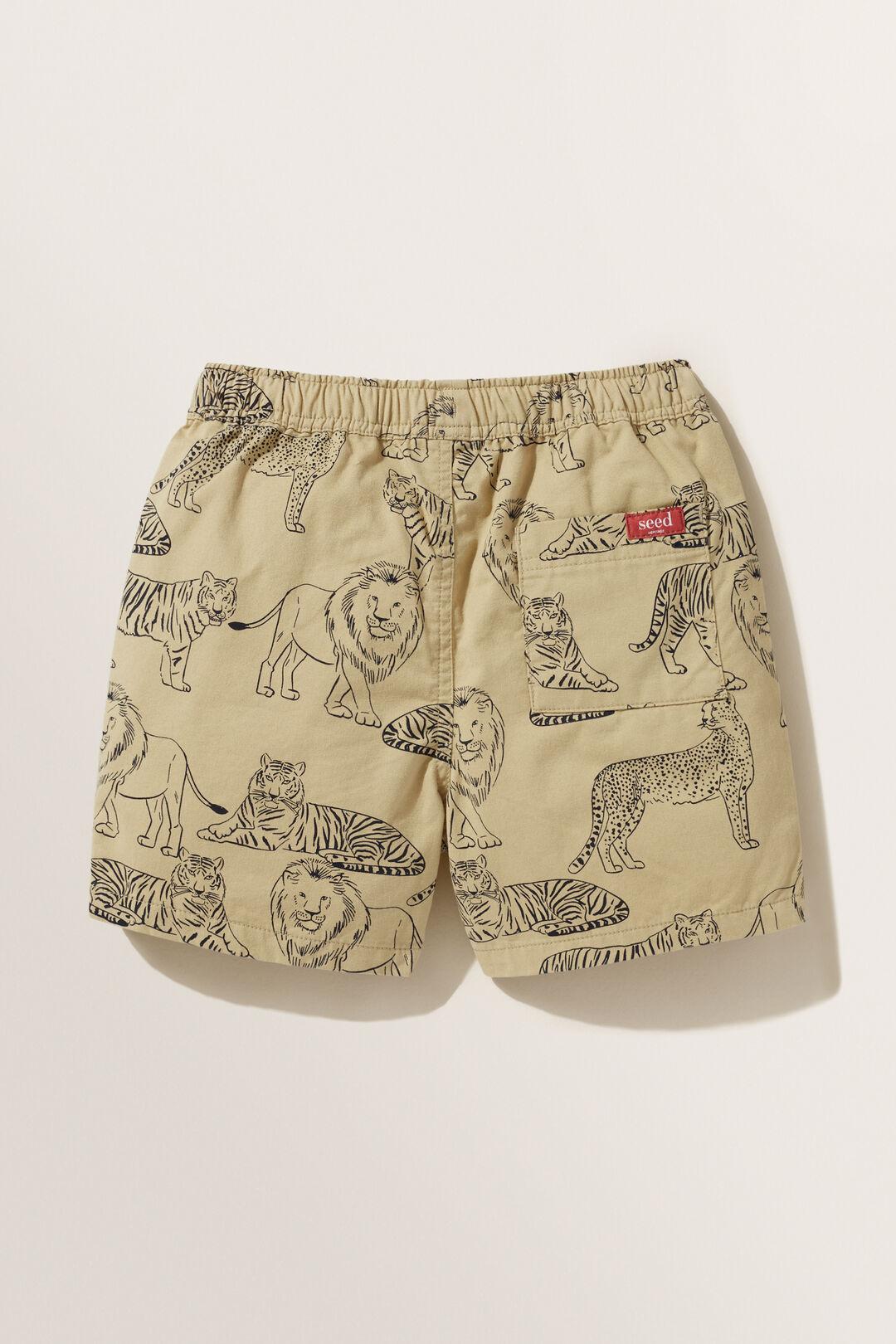 Lion Shorts  SAND  hi-res