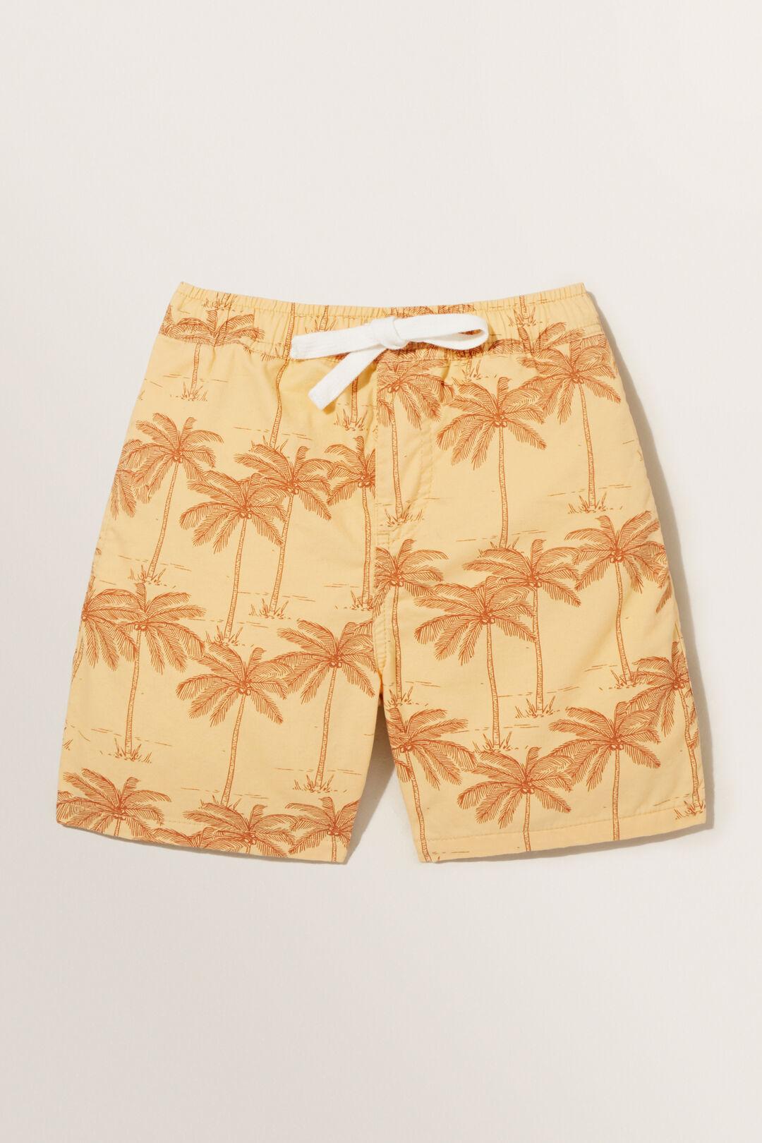 Palm Tree Shorts  BUTTERCUP  hi-res
