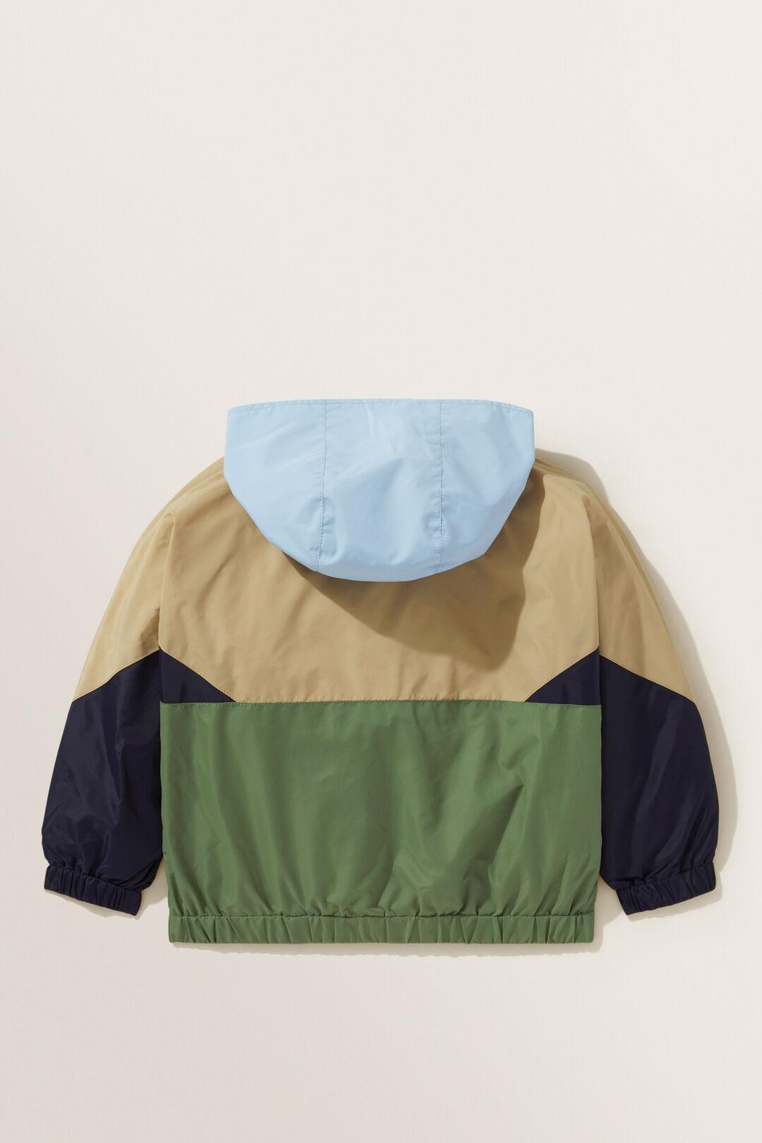 Panel Spray Jacket  MULTI  hi-res