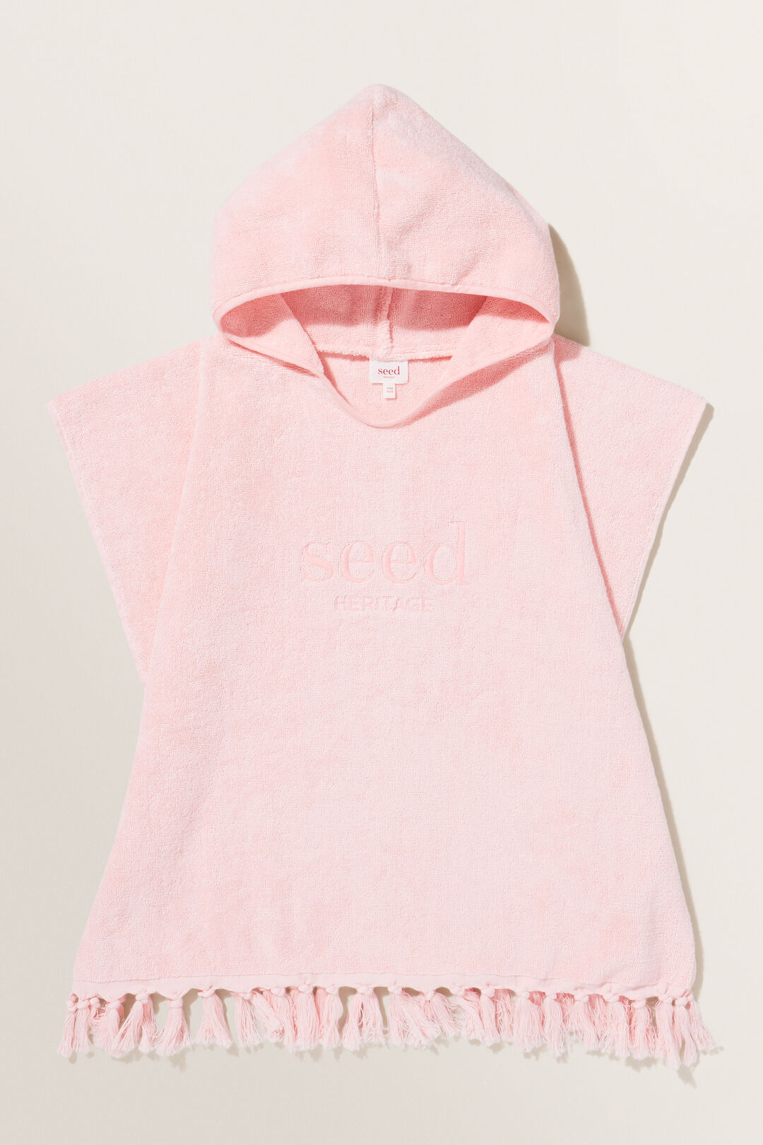 Heritage Poncho  DUSTY ROSE  hi-res