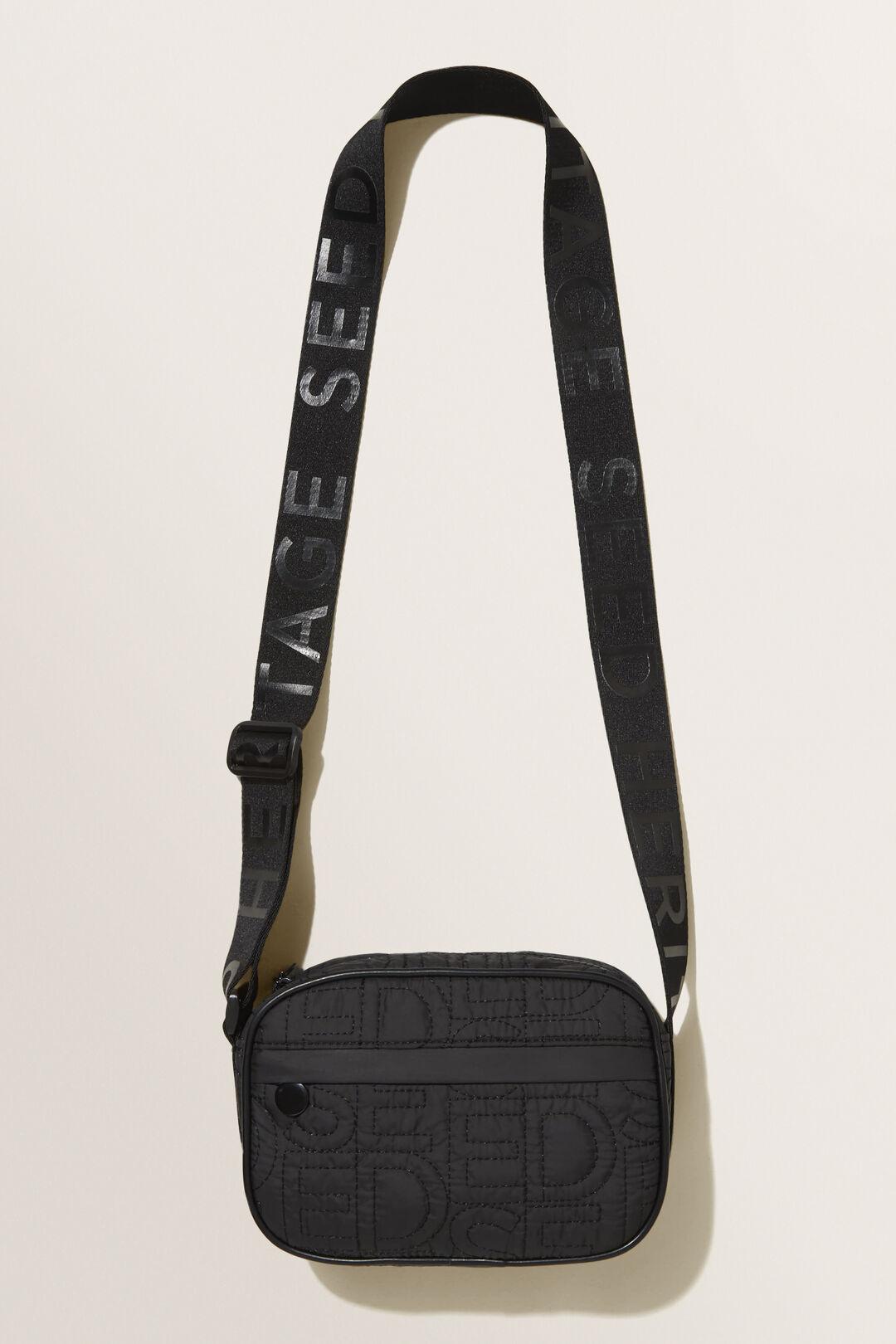 Heritage Crossbody Bag  BLACK  hi-res