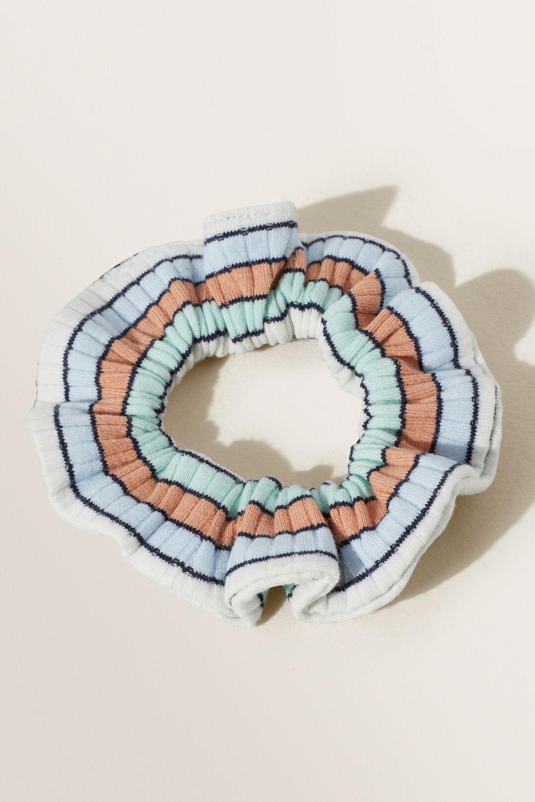 Rib Knit Scrunchie  MULTI  hi-res