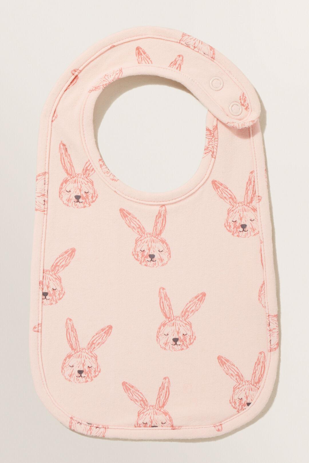Bunny Bib  ROSEWATER  hi-res
