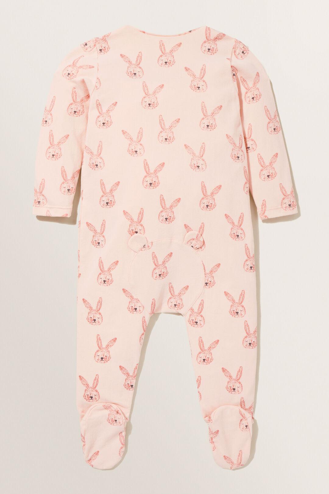 Bunny Zipsuit  ROSEWATER  hi-res