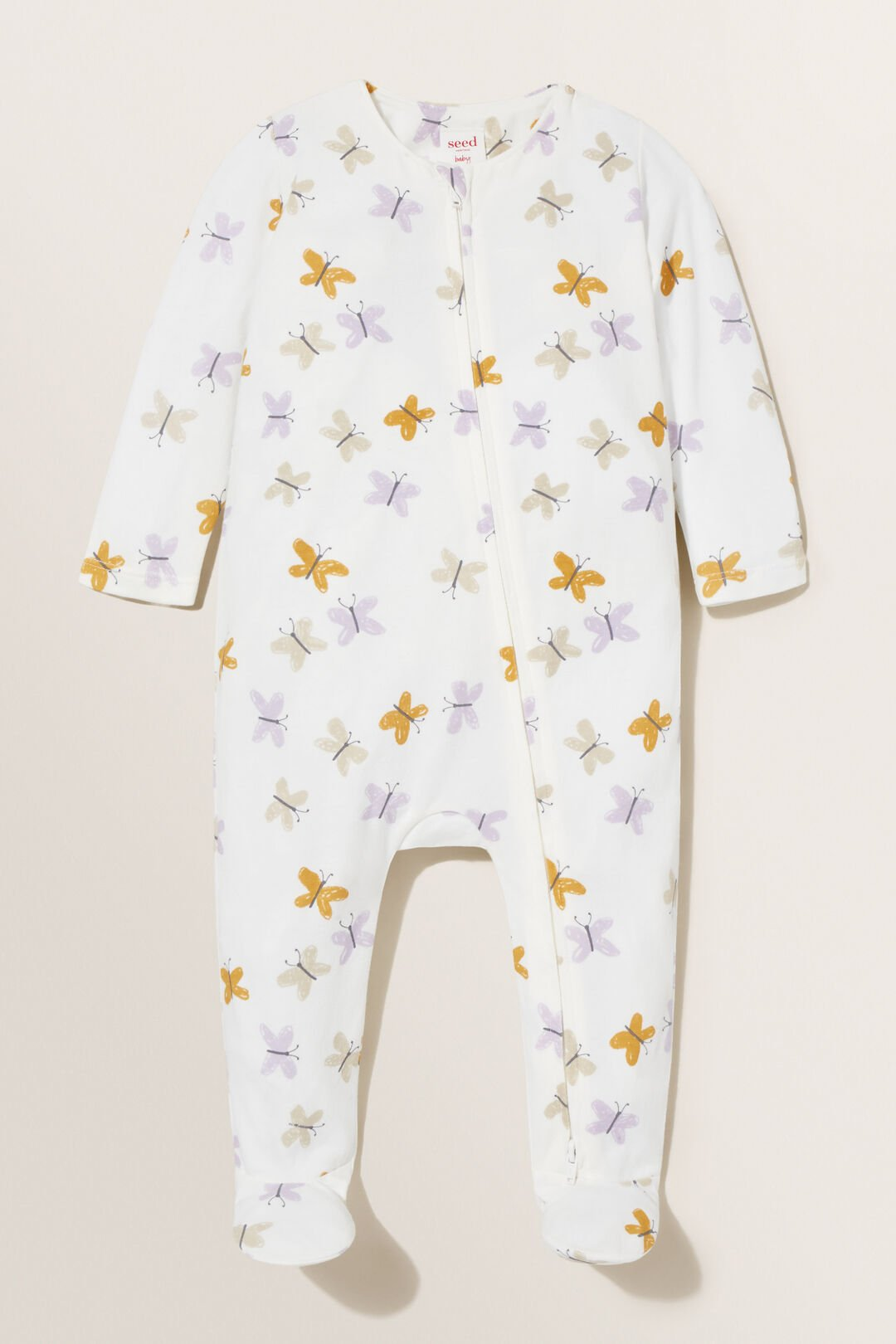 Butterfly Zipsuit  CANVAS  hi-res
