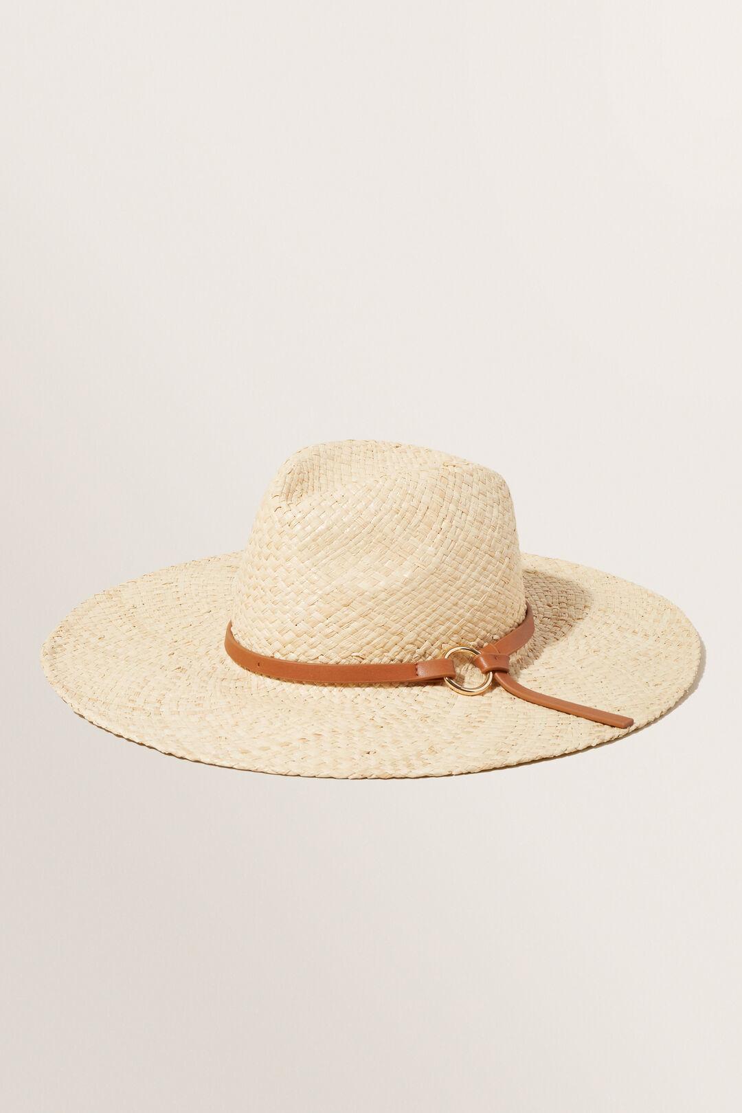 Shelby Panama Hat  TAN  hi-res