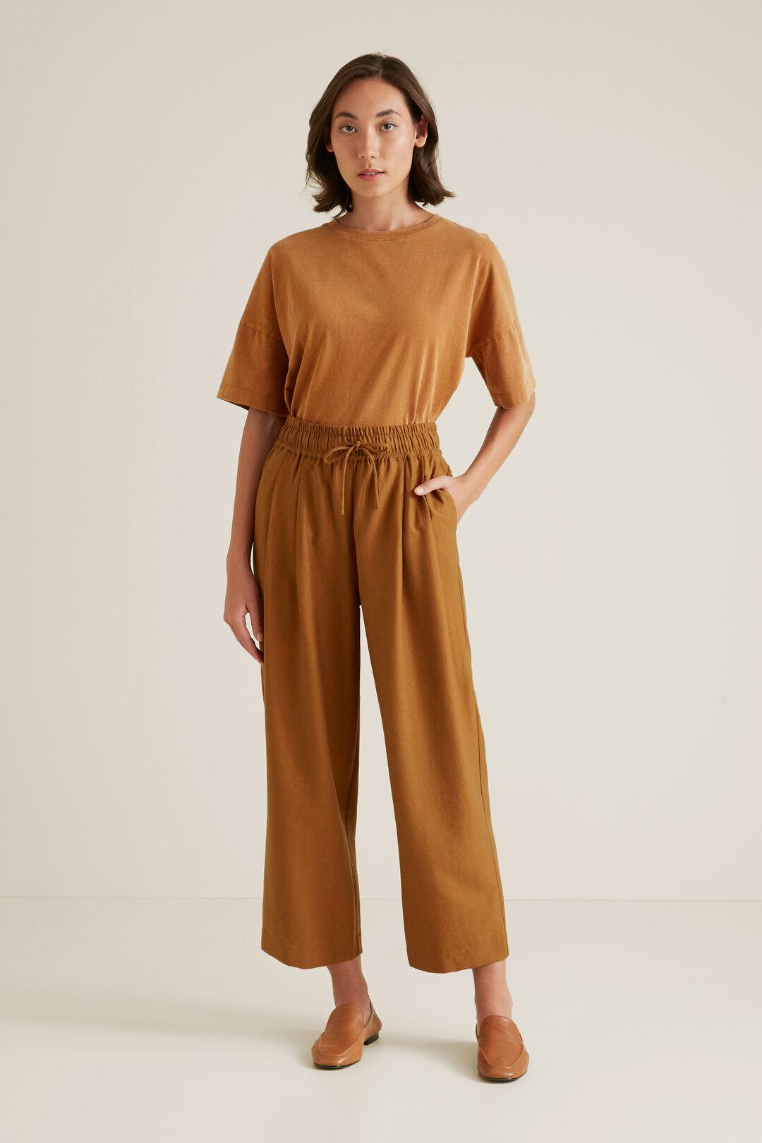 Wide Leg Drawstring Pant  SPICE  hi-res
