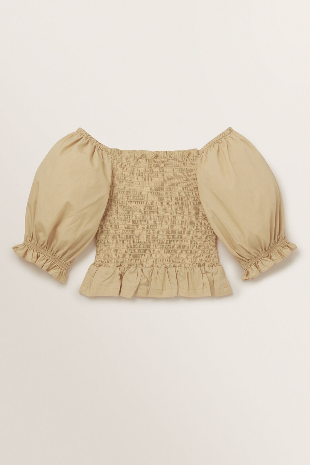 Puff Sleeve Top  FAWN  hi-res
