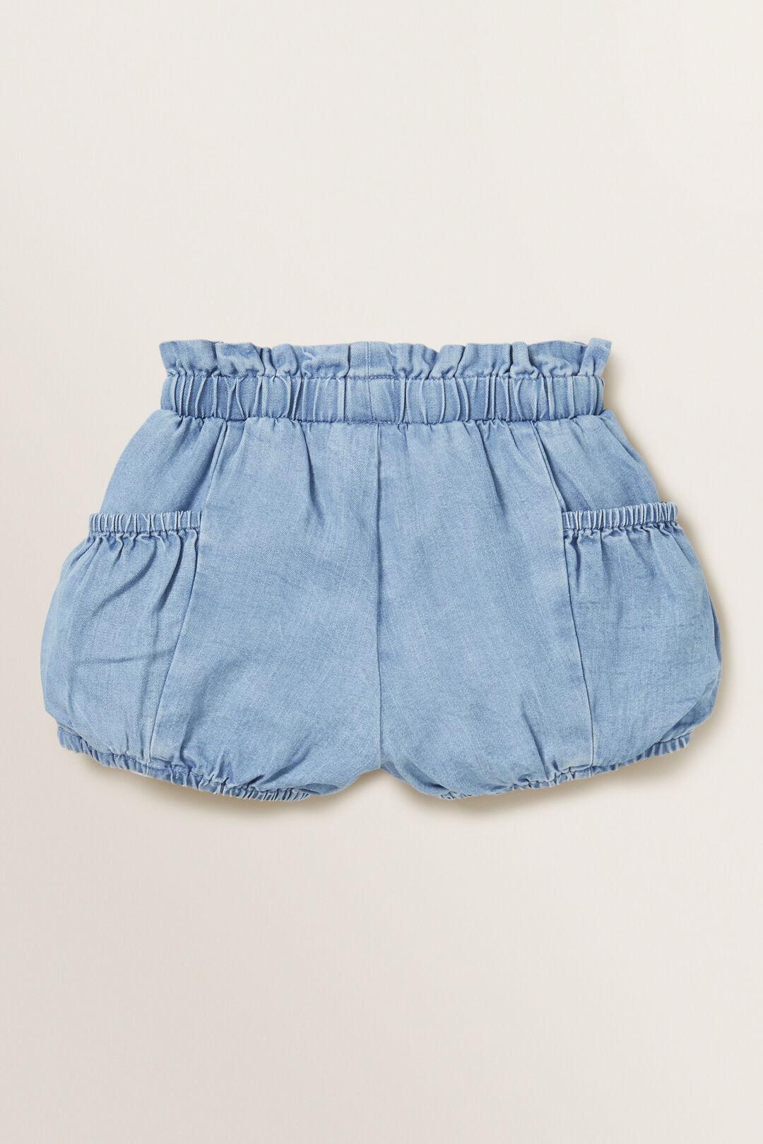 Chambray Shorts  LIGHT WASH  hi-res