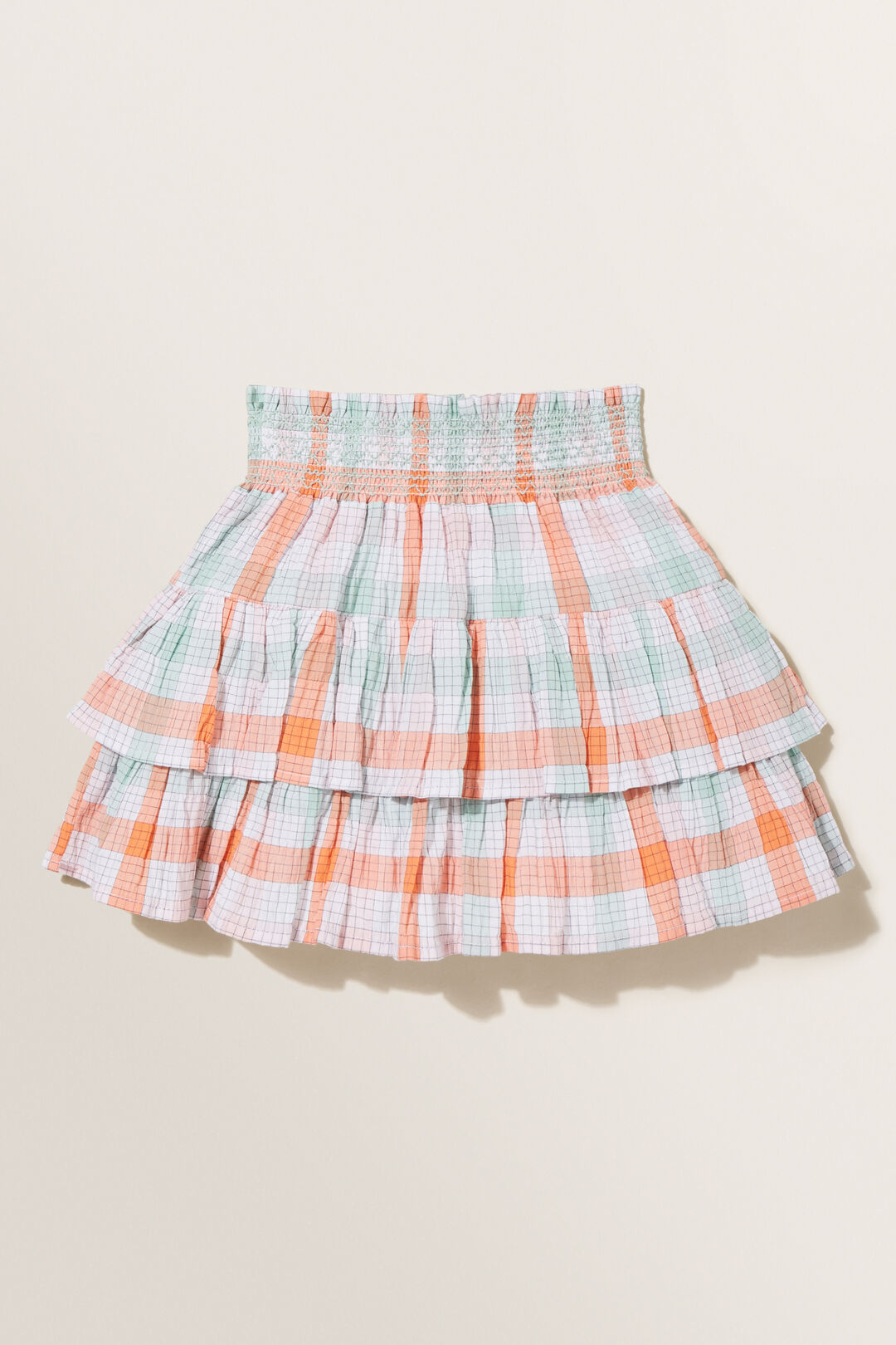 Gingham Skirt  CLEMENTINE  hi-res