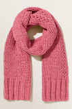 Chunky Chenille Scarf  BERRY  hi-res