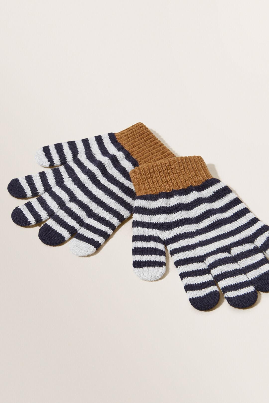 Stripe Gloves  MULTI  hi-res