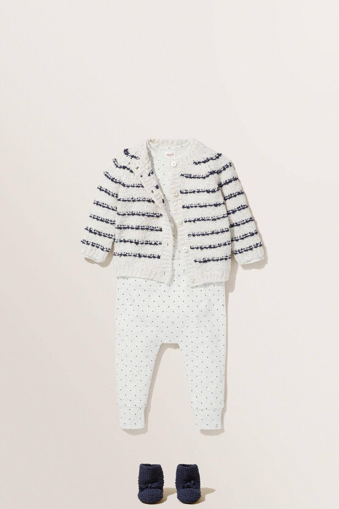 Fluffy Stripe Cardigan  ICY MARLE  hi-res
