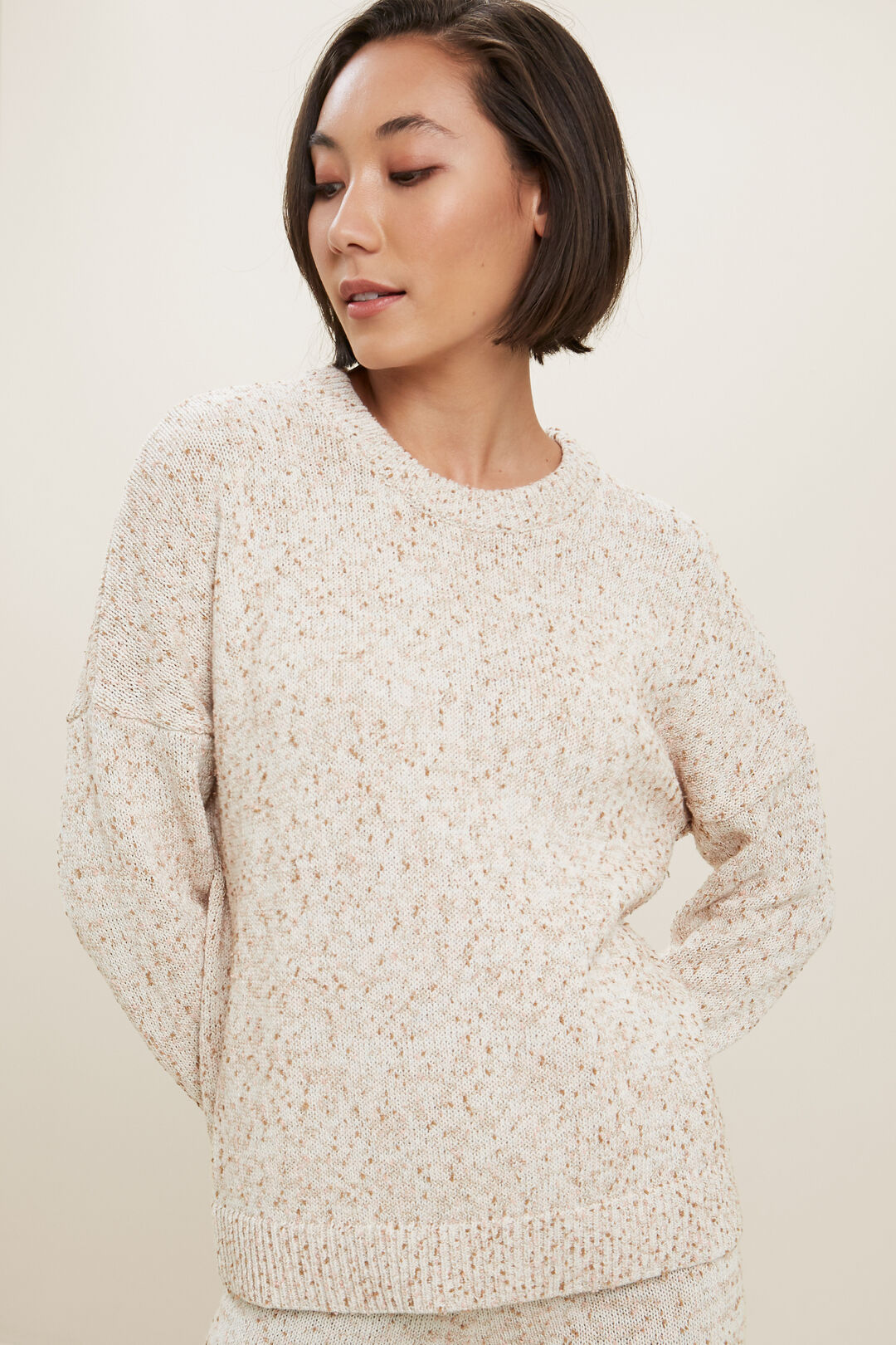 Fleck Sweater  FRENCH VANILLA  hi-res