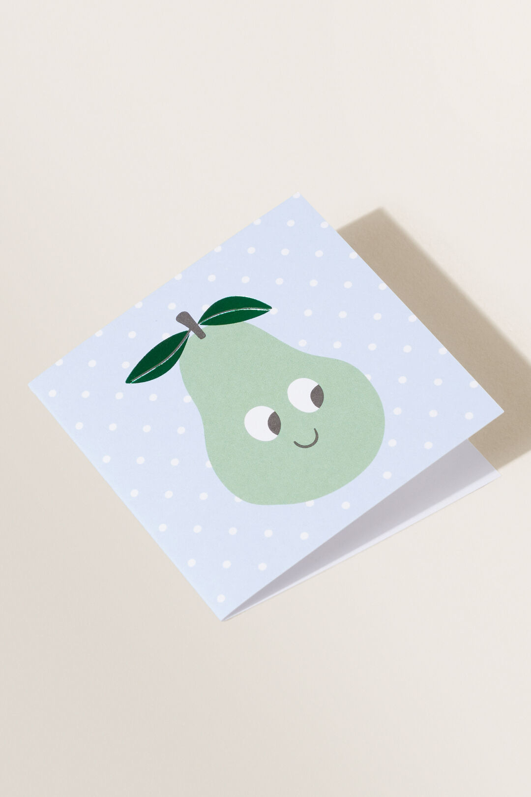 Small Baby Pear Card  MULTI  hi-res