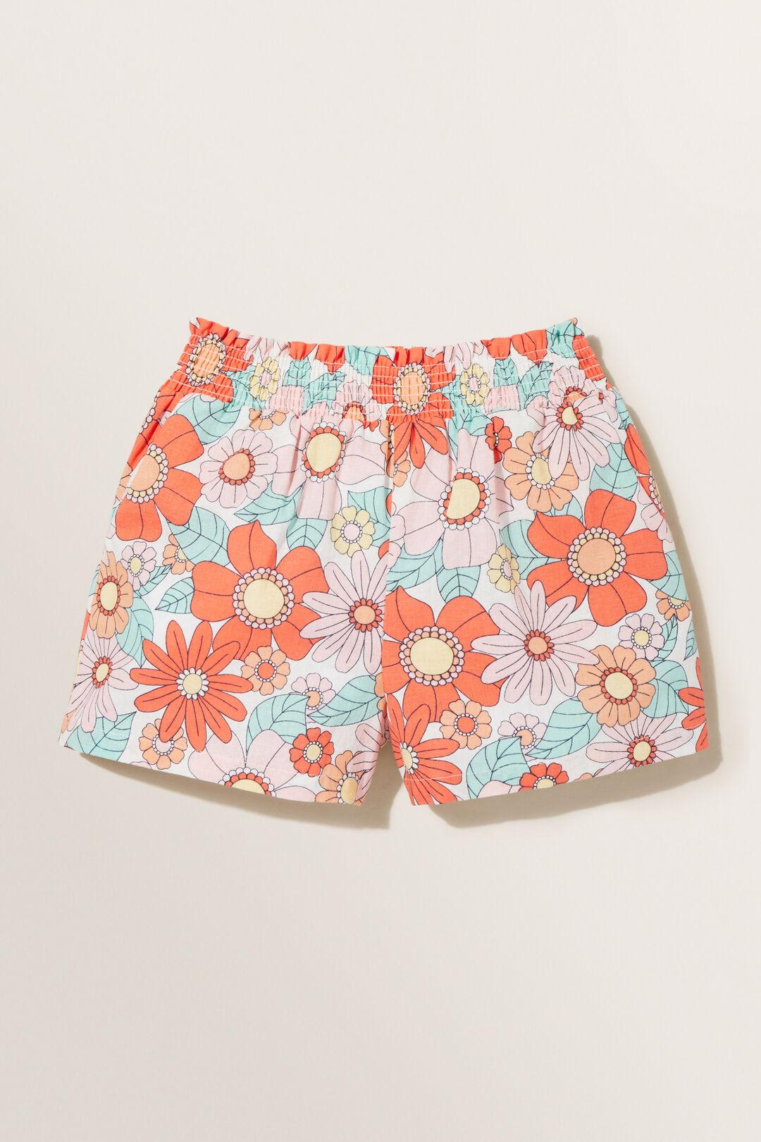 Floral Linen Shorts  CLEMENTINE  hi-res
