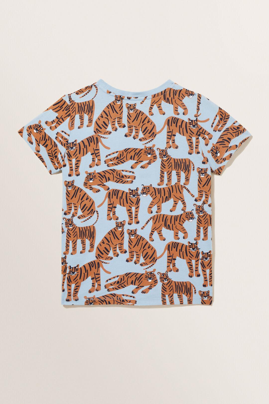 Tiger Tee  PALE BLUE  hi-res