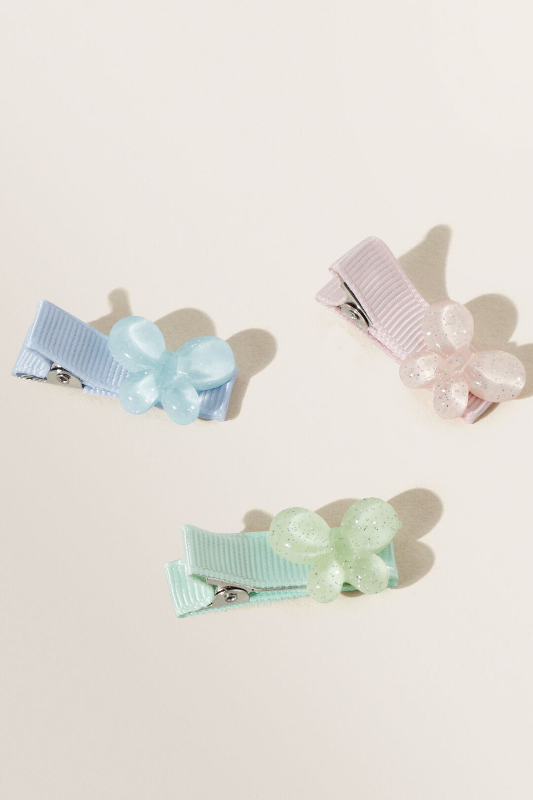 Butterfly Clip 3 Pack  MULTI  hi-res