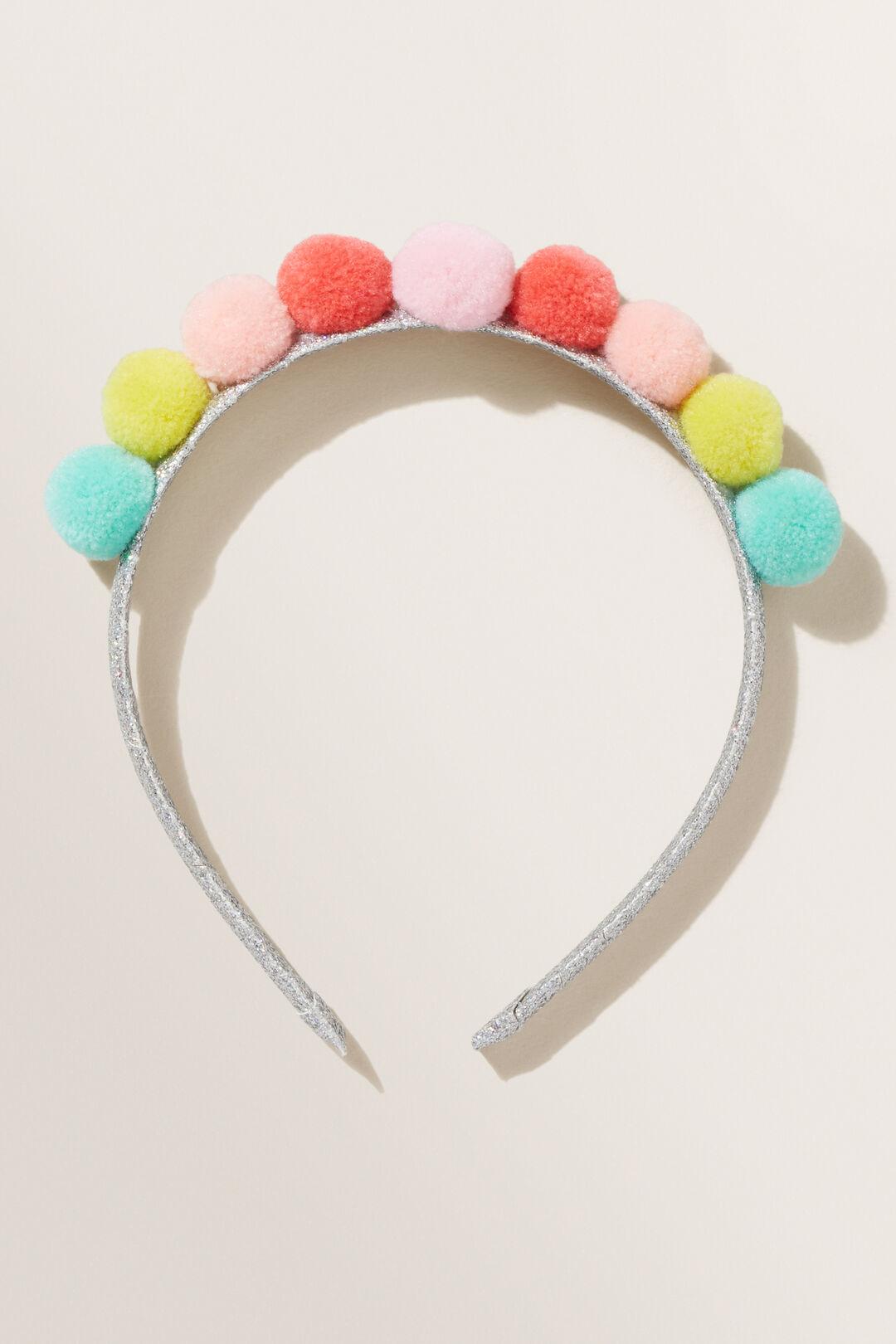Pom Pom Headband  MULTI  hi-res